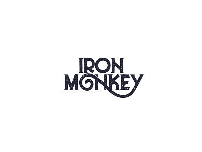Iron Monkey logo logo inspiration brand design vector typography logo inspirations logodesign logo identity branding
