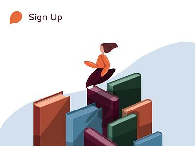 Storytel Illustration branding illustrator minimal ui vector procreate illustration design behance app