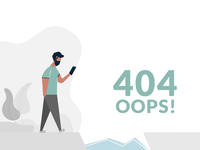 404 Page Illustration