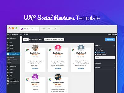 Free WordPress Plugin - WP Social Reviews free reviews social plugin wordpress