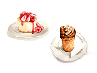 Pastries illustration 2