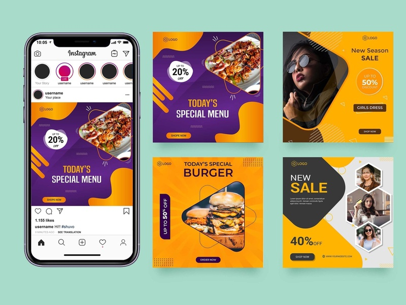 Social Media Post Design Size Designs Themes Templates And Downloadable Graphic Elements On Dribbble