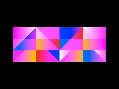 Geometric gradation gradation simple vector art geometric flat vector 2d art illustration flat illustration vectornator design