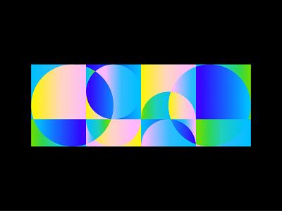 Geometric gradation simple vector art geometric flat vector 2d art illustration flat illustration vectornator design