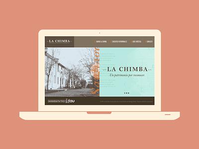 La Chimba la chimba santiago chile website web patrimonio u de chile