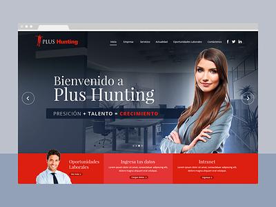 PlusHunting designer freelancer freelance hunting santiago chile ui web corporativo