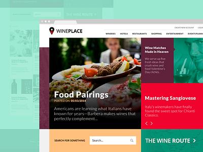 Wineplace freelancer designer santiago app web design user interface user experience freelance chile
