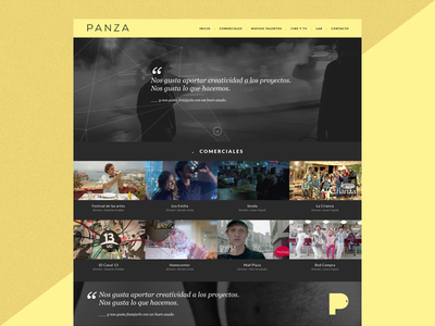 . Panza tiene onda webdesign video ui spot website web chile santiago