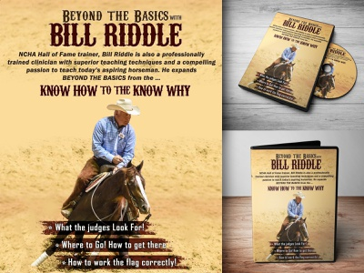 BILL RIDDLE DVD photoshop cover art dvd cover dvd