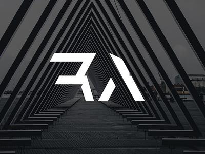 Royal Architechure Logo initials details vector logo branding adobe illustrator