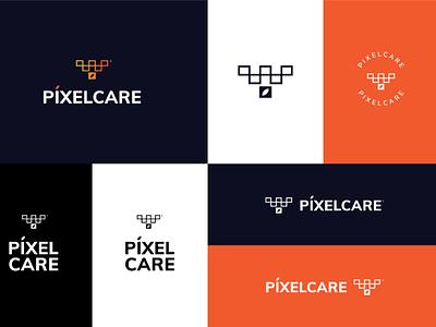 PIXELCARE Branding branding logodesign