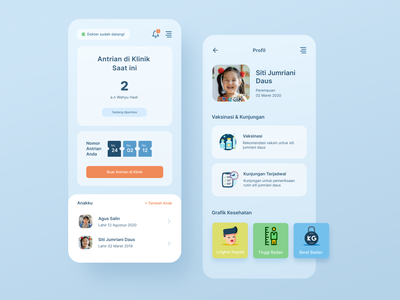 Pediatric Clinic Appointment App appointment ui  ux mobile ui clinic clinic logo doctor mobile design mobile app application mobile app design uiux clinic app doctor appointment doctor app appointment booking app design appointment app ui design ui