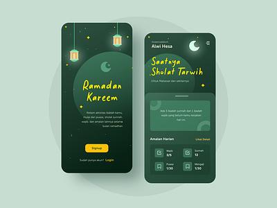 Ramadan Kareem Mobile App tracking app application mobile app design mobile app app design app ramadan mubarak ramadan ramadan kareem design ui design uidesign ui mobile ui mobile