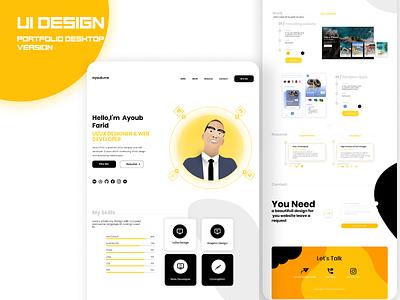 Ui portfolio 2020 website web webdesign vector uidesign ui-ux logo interface ui ux design