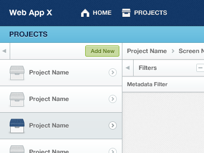 Project Listing