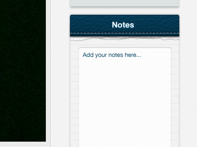 Notepad for DataViewer UI