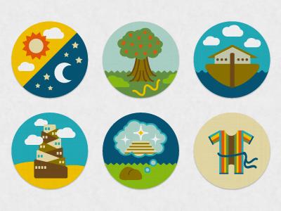 Bible Story Icons: Genesis Series