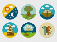 Bible Story Icons: Genesis Series