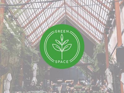 Green Space Cafe branding identity