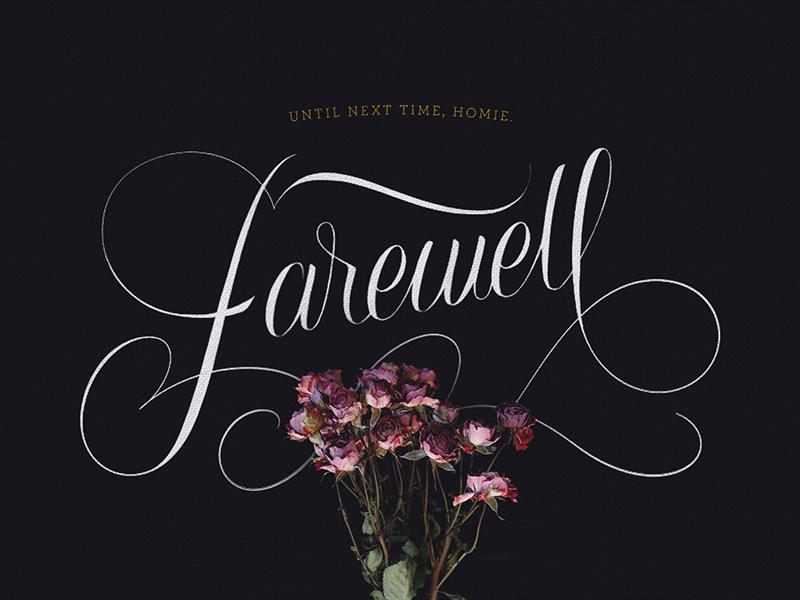 Farewell By Keety Kat Dribbble Dribbble