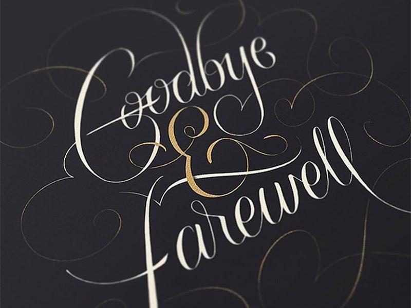 goodbye  u0026 farewell by keety kat on dribbble