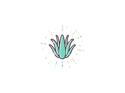 ACTIValoe® Aloe Vera design ui icon set illustration vector icon