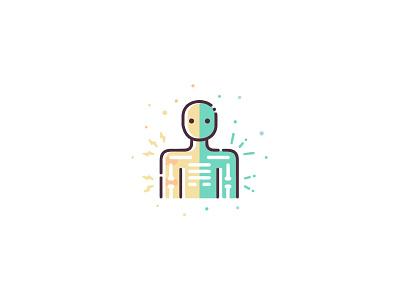 Anti-Inflammatory design ui icon set illustration vector icon