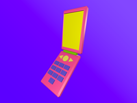Mobile toy device mockup