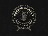 Cosmic Cowboy Badge