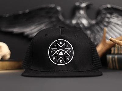Preacher Hat hat preacher badge logo