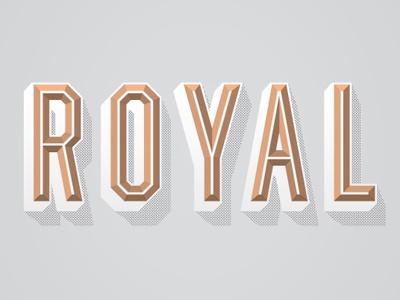 Royal dribbble