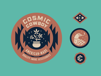 Cosmic Cowboy Badges