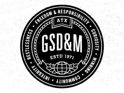 Emblem dribbble