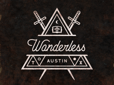 Wanderless triangle dribbble2