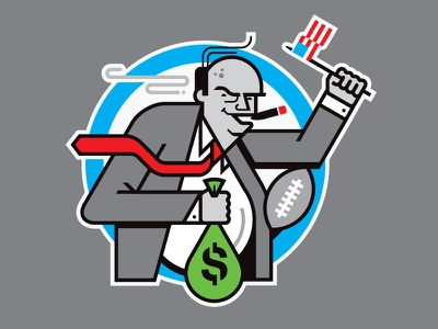 NFL Greedy Owners nfl old man usa football liver spots greed money