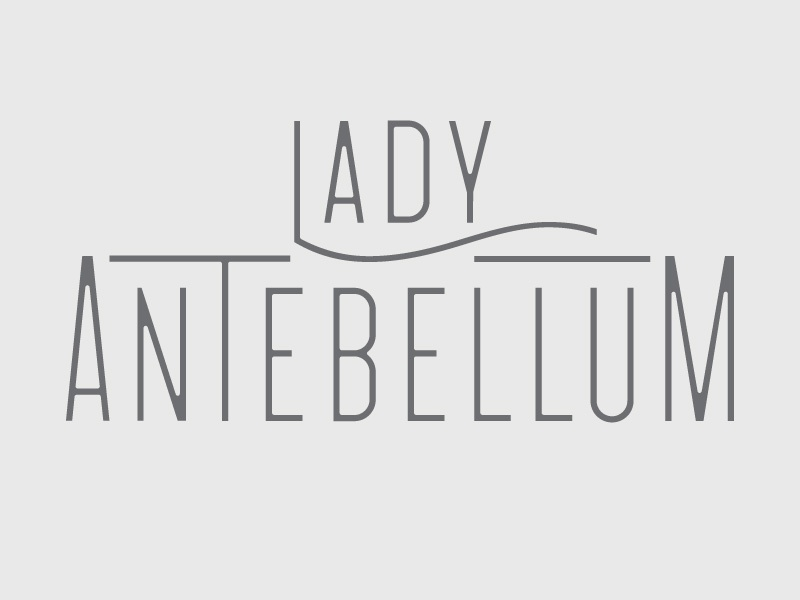 Lady A lady antebellum country music custom type