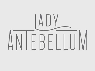 Lady A lady antebellum country music custom type