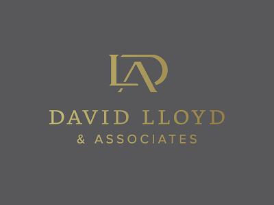 David Lloyd & Associates travel monogram foil