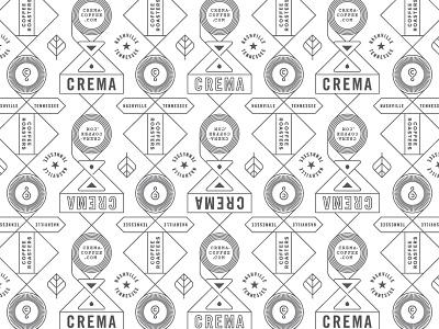 Crema Pattern 2 coffee pattern crema