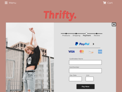 Thrifty Checkout