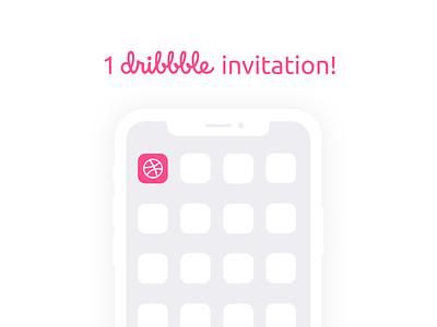 1 Dribbble invitation web ux ui invites invitation dribbble invitation dribbble