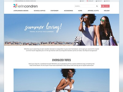 Summer Travel Lookbook lookbook austin fashion erin condren product full width photography landing travel summer