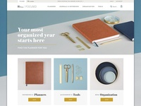 Focused by Erin Condren tonal neutral minimal product responsive landing erin stationery condren store ecommerce