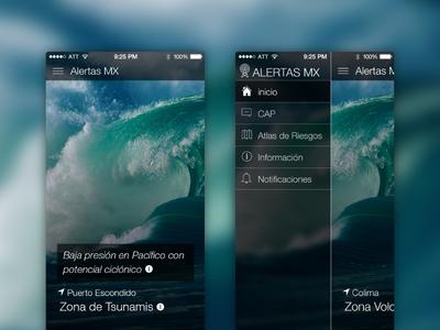 Disaster Alert App disaster mobile app mobile app interface alert alerts challenge