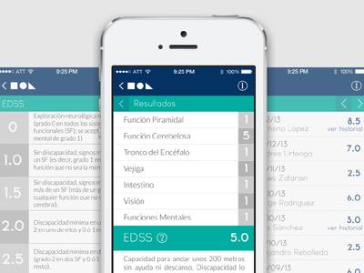EDSS Calculator app mobile edss diagnosis calculator lists evaluation survey medicine medical sclerosis
