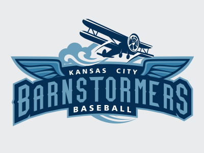 KC Barnstormers logo pack by Mauricio Fontinele on Dribbble