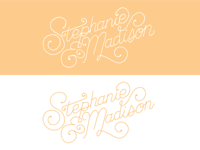 Wedding invitation lettering lettering typography vector hand drawn