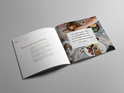 Brand Book brand book typography layout editorial branding