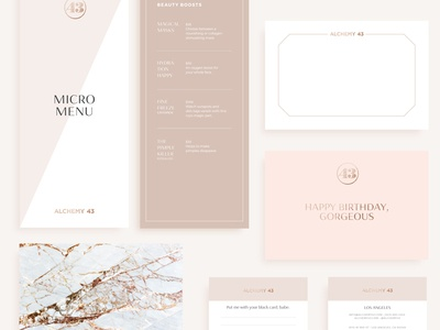 Branding Collateral design print layout typography type branding cards menu