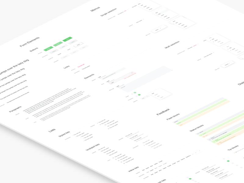 Design System for itison.com css html framework components web ui system design